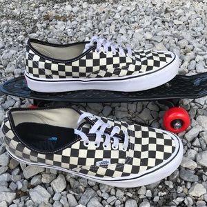 Checkerboard Ultra Lite Vans Sneakers mens size 10